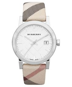 Burberry Watch, Women's Swiss Nova