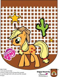 {free} printable My Little Pony Banner Applejack