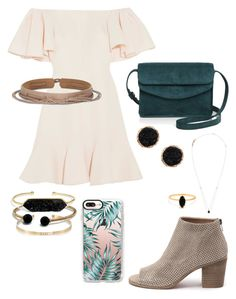 """Untitled #1898"" by fashionismine1999 on Polyvore featuring Valentino, Ada, Top End, Ileana Makri, Illesteva, David Yurman, Humble Chic, BaubleBar, Bing Bang and Casetify"