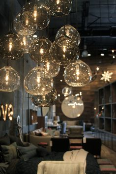 cisco brothers orange county – Greige Design Love the bubble look and the warm light Cool Lighting, Lighting Design, Pendant Lighting, Lighting Stores, Lighting Sale, Porch Lighting, Luxury Lighting, Lighting Ideas, Orange County