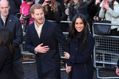 Prince Harry and Meghan Markle's first public appearance - HarpersBAZAARUK