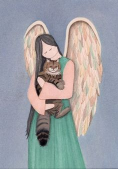 RIP my darling cat, Tigger. Pray you are resting in an angel's arms. Missing you loads.