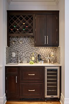 Corner Wet Bar For Basement Ideas