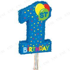 【取寄品】ピニャータ1stバースデーボーイ♪イベント・装飾バースデーパーティグッズ誕生日パーティーグッズピニャータ1歳誕生日ファーストバースデーハーフバースデー