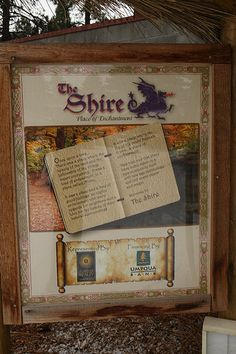 Welcome to the Shire by Elmazz, via Flickr - The Shire, a (failed) planned Tolkien-themed development in Bend, Oregon
