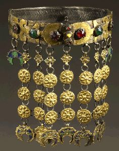 Albanian necklace late 18th century