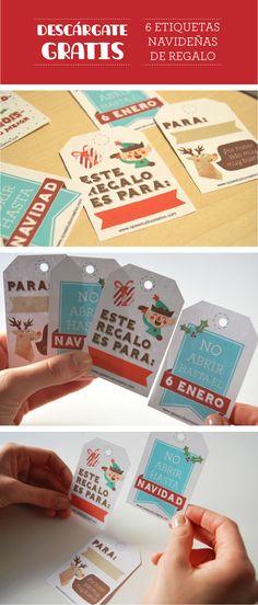 etiquetas navideñas