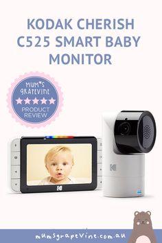 REVIEW: Kodak Cherish C525 Smart Baby Monitor Smart Baby Monitor, Baby List, Baby Essentials, Sd Card, Baby Wearing, Beautiful Babies, Parenting, Baby Products, Speakers