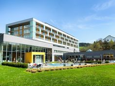 enjoyment in the resort Lebensquell Bad Zell **** s - 2019 DIY And Craft Wellness, Restaurant, Sauna, Tiny Living, Bad, Diy And Crafts, Mansions, House Styles, Health