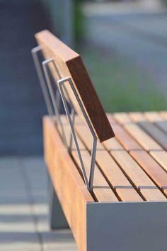 mmcité – products – park benches – blocq – Famous Last Words Concrete Furniture, Modern Outdoor Furniture, Urban Furniture, Street Furniture, Affordable Furniture, Metal Furniture, Cheap Furniture, Garden Furniture, Furniture Design