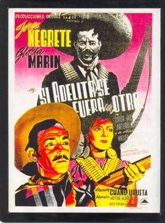 Si Adelita Se Fuera Con Otro - Directed by Chano Urueta, starring Jorge Negrete with Gloria Marin