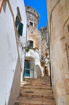 Ruelle. Ceglie messapica. Puglia. Italie Image En Vente