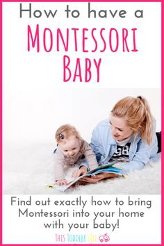 How to have a Montessori baby. Montessori baby home. How to have a Montessori baby. Montessori baby home. Montessori Toddler, Montessori Activities, Infant Activities, Toddler Preschool, Montessori Baby Rooms, Montessori Practical Life, Thing 1, Baby Development, Baby Kind