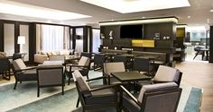 Hilton Vienna Plaza hotel - Executive Lounge