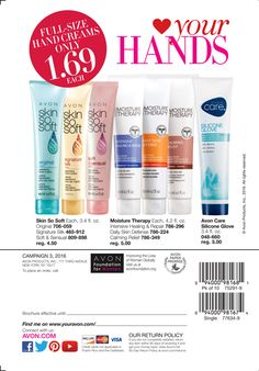 eBrochure | AVON- the best deals are often on the back cover!  https://jjeszeck.avonrepresentative.com FREE SHIPPING on all orders over $40 or $5.95 flat rate.