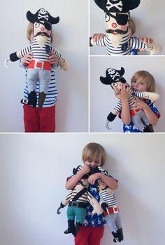 #DIY pirate #doll #sewing tutorial
