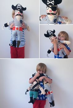 DIY pirate doll