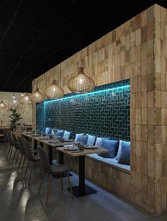 Home Decoration Cheap Ideas Code: 8035439892 Coffee Shop Interior Design, Coffee Shop Design, Restaurant Interior Design, Lounge Design, Cafe Design, Cafe Restaurant, Restaurant Tables, Nightclub Design, Cafe Concept