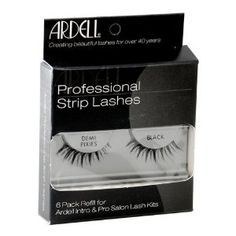 Ardell False Eyelashes 6 pack InvisiBands Demi Pixies Black Strip Lashes (Health and Beauty)   http://postteenageliving.com/amazon.php?p=B001C7MAA8