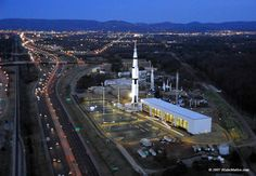 Huntsville Space & Rocket Center In Huntsville, Alabama USA Rocket Center, Huntsville Alabama, Time News, State Of Colorado, Sweet Home Alabama, Amazing Spaces, Modern City, Cool Countries, Travel List