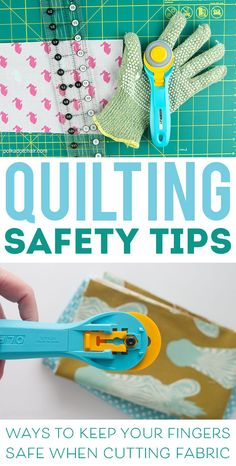 MUST READ Tips for keeping your fingers safe when you're quilting!  [ad]