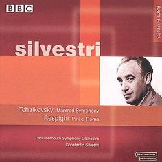 Bournemouth So - Tchaikovsky:Manfred Symphony/Respighi:Pin