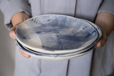 Placa de cerámica cerámica de Delft Azul y blanco por FreeFolding