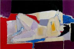 EYE-LIKEY:  Nicolas de Staël was a painter known for his use of a thick impasto and his highly abstract landscape painting. He also worked with collage, illustration and textiles