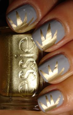 """Essie - """"Cocktail Bling"""" & """"As Good As Gold"""", matte version"""