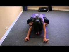 ▶ Yoga for Lupus & Chronic Pain - Part 4 - Seated forward bend - YouTube
