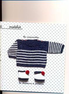 Bonjour ! Avec ce temps frais et triste, on a encore envie de tricoter ! Je vous poste donc un nouveau modèle Bon tricot !!!