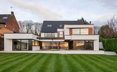 The Ultimate Extension – Transform Architects – House Extension Ideas, Disabled Adaptations, Contemporary Residential Architects, House Renovation Ideas, Kitchen Extension Ideas House Extension Design, Roof Extension, Extension Ideas, Residential Architect, Architect House, Bungalow Conversion, Modern Bungalow House, Bungalow Exterior, Prefabricated Houses