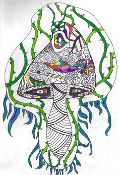 Magic Mushroom Drawing Simple Tattoo Design Pictures Simple Tattoo Designs, Simple Designs, Tattoo Simple, Mushroom Tattoos, Mushroom Drawing, Picture Design, Psychedelic, Stuffed Mushrooms, Drawings