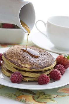 Simply the best low carb pancakes. Coconut flour and a secret ingredient to make…