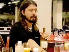 New party member! Tags: dave grohl foo fighters taylor hawkins top chef padma lakshmi mystaylor hawkins mysdave grohl