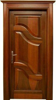 Flush Door Design, Single Door Design, Wooden Front Door Design, Wooden Front Doors, The Doors, Wood Doors, Wooden Windows, Entrance Doors, Panel Doors