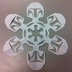 Star Wars Snowflakes  #DIY #Christmas #Projects