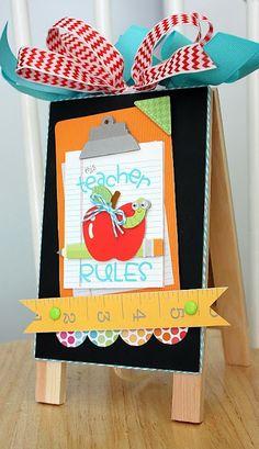 Doodlebug Design Inc Blog: Back to School with Doodlebug: Teacher Gifts Ideas