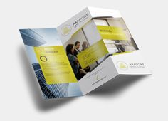Check out Tri Fold Brochure Vol 1 by Calwin on Creative Market