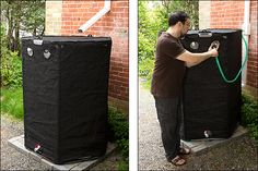Handy Tank™ 1000 litre Rainwater Tank - Gardening