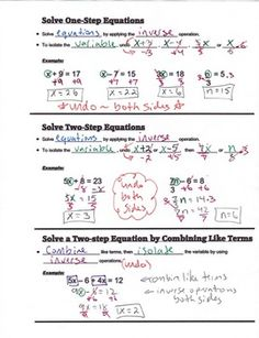 Linear Function Review Booklet | Algebra | Pinterest ...