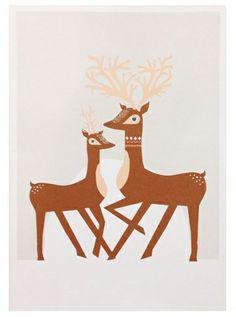 Donna Wilson Christmas Cards http://www.buitendelijntjesshop.com/c-1821334/donna-wilson/