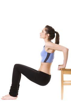 2 exercícios para fazer na cadeira de casa