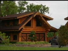 Pioneer Log Homes of BC Building a Custom Home - YouTube