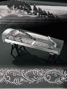 Glass Chinese Harp