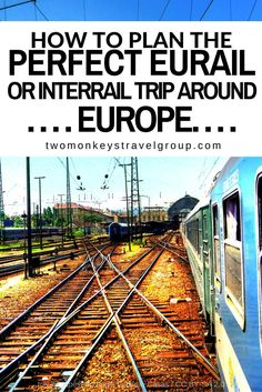 I will discuss in this article on how we planned our Eurail / Interrail.