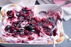 Cookie Recipes, Dessert Recipes, Quick Dessert, Good Food, Yummy Food, Pavlova, Trifle, Sweet Recipes, Raspberry