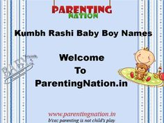 Welcome To Kark Rashi Baby Boy Names With Meanings, Here You Can Find Large Collection Of Indian Baby Names With Meaning.  Brought To You By ParentingNation.in.