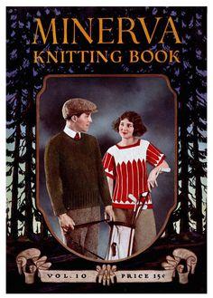 Minerva Knitting Book 10 c.1922  Sportswear Patterns by ivarose