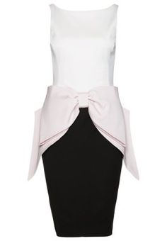 Coast GLAMOUR BOW - Sukienka koktajlowa - ivory/blush/navy za 779 zł (06.02.15) zamów bezpłatnie na Zalando.pl.